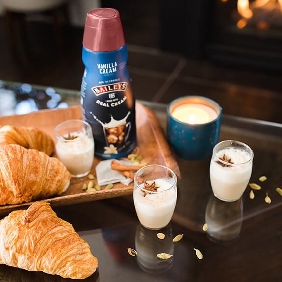 Baileys Vanilla Creamer Spiced Chai Latte Recipe with Bailey's® Coffee Creamer