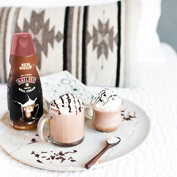 Salted Caramel Chocolate Milk Recipe with Bailey's® Coffee Creamer